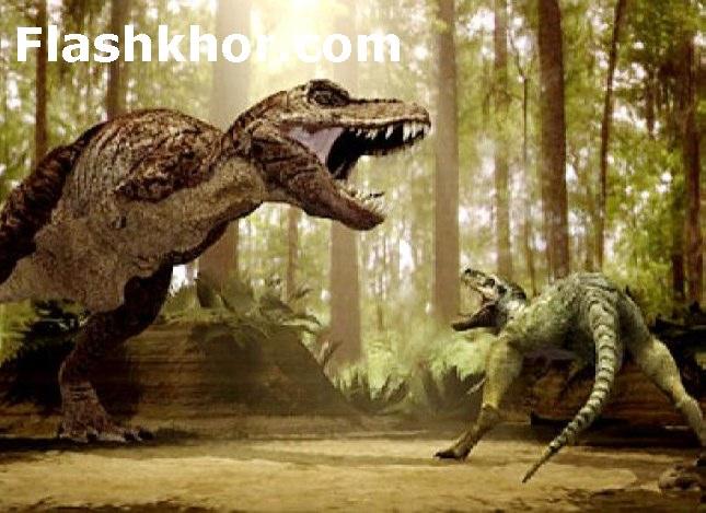 بازی جنگ دایناسورهای وحشی آنلاین