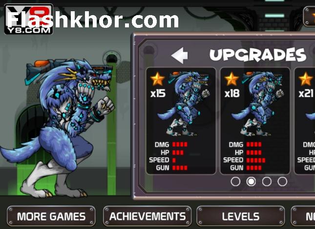 بازی گرگ وحشی تنها اندروید کامپیوتر