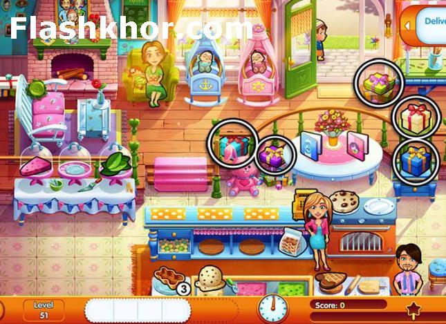 بازی رستوران داری مرحله ای جدید آنلاین امیلی