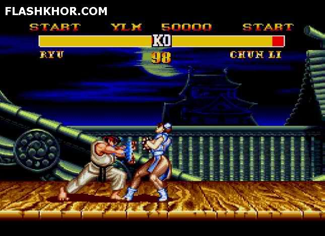 بازی آنلاین street fighter II champion edition استریت فایتر فلش