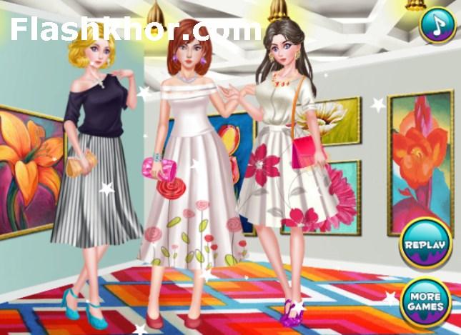 بازی دکوراسیون خانه بزرگ دخترانه آنلاین