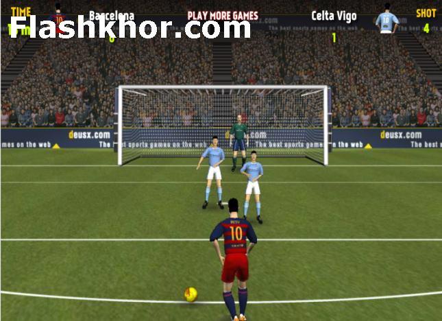 بازی فوتبال لیگ اسپانیا برتر آنلاین