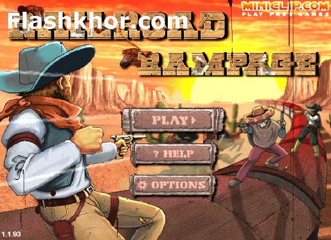 بازی وسترن برای کامپیوتر pc آنلاین