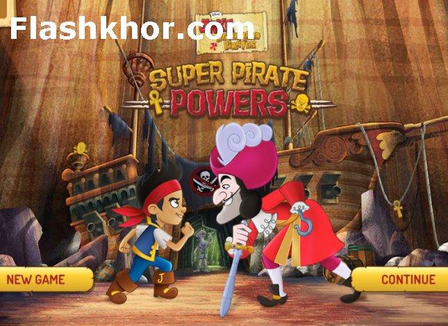 بازی قدرت فوق العاده دزدان دریایی برای اندروید کامپیوتر