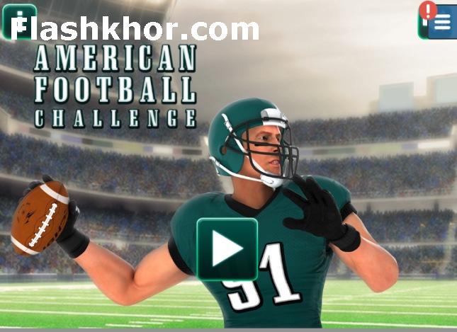 بازی فوتبال آمریکایی برای کامپیوتر سه بعدی آنلاین