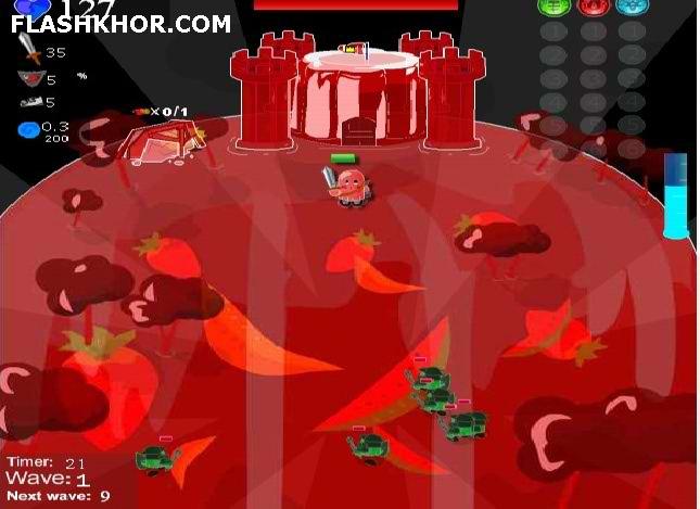 بازی آنلاین jelly castle فلش