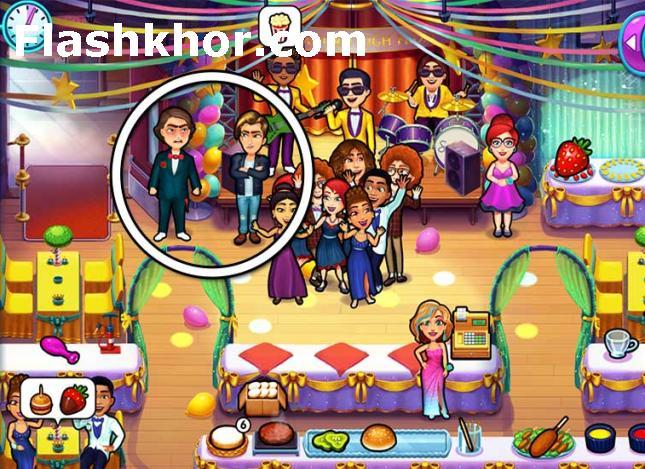بازی مدیریت رستوران بزرگ کامپیوتر اندروید امیلی