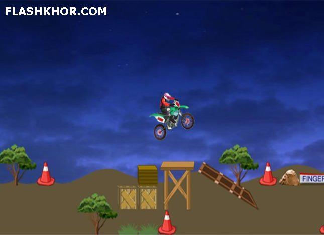 بازی آنلاین Acrobatic Rider فلش