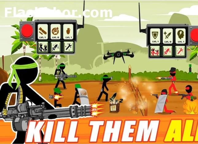 بازی ارتشی جنگی اندروید آنلاین