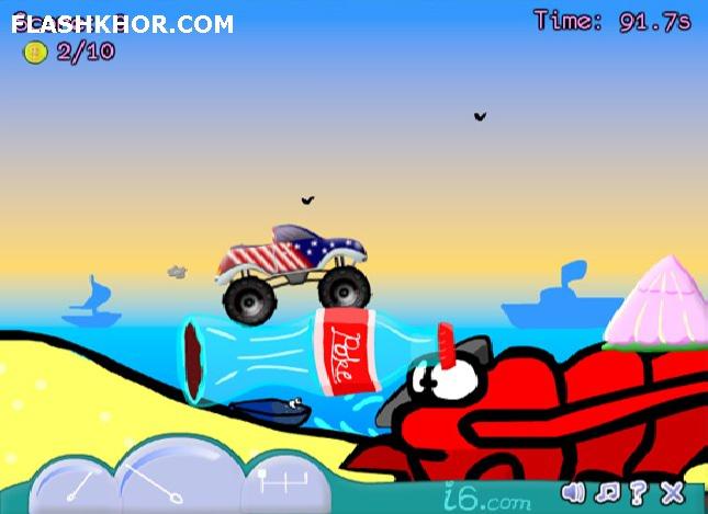 بازی آنلاین Micro Trux 2 فلش