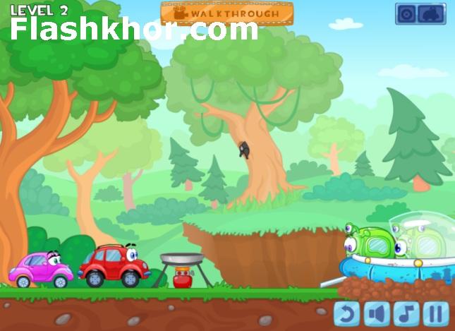 بازی ویلی 8 بیگانگان فیزیک آنلاین