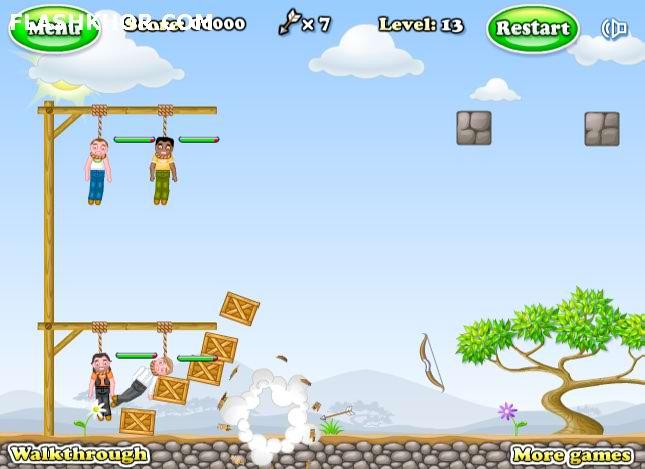 بازی آنلاین gibbets2 فلش