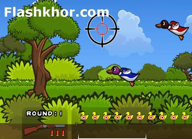 بازی شکار پرندگان برای کامپیوتر اندروید آنلاین