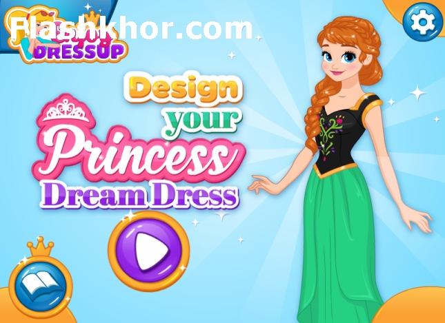 بازی طراحی لباس السا جدید دخترانه