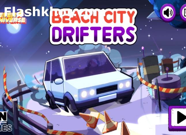 بازی ماشین سواری در شهر ساحلی دریفت