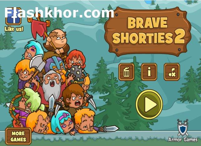 بازی پسرانه جدید جنگی کوتوله های شجاع آنلاین