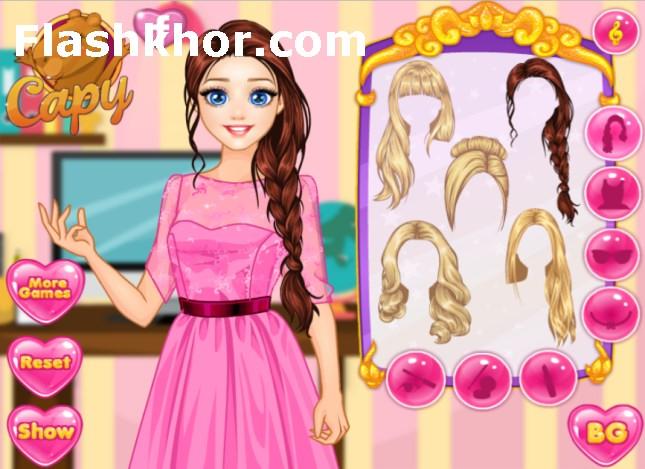بازی دخترانه مدل لباس جدید آنلاین راپونزل