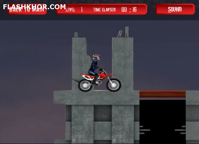 بازی آنلاین dirt bike 4 فلش