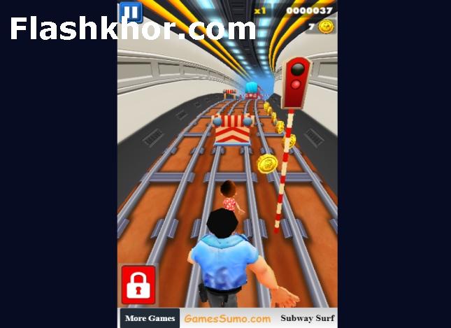 بازی موج سواران مترو برای کامپیوتر اندروید Subway Surfers