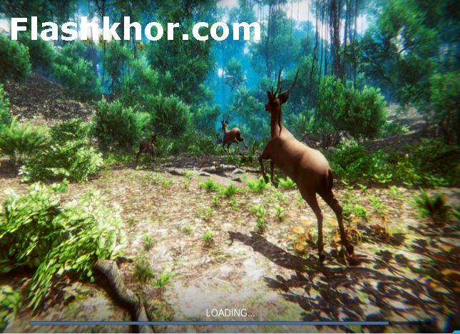 بازی شکار حیوانات کامپیوتر شکارچی آهو آنلاین