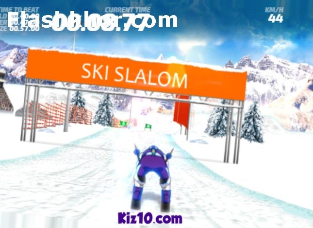 بازی اسکی روی برف اندروید و یخ آنلاین