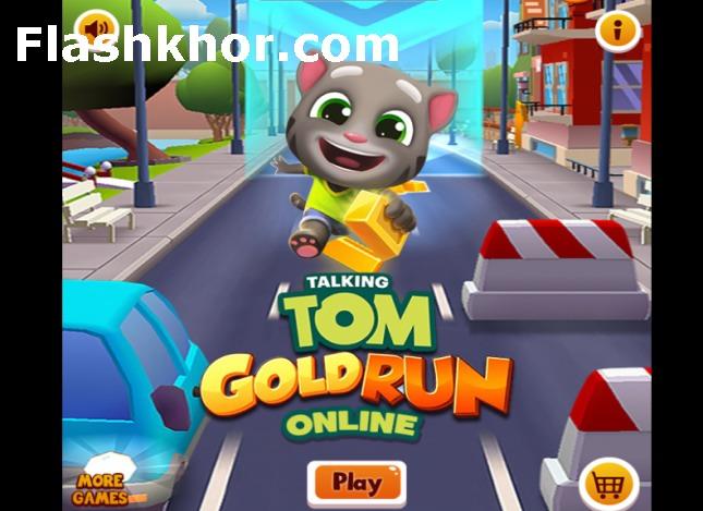 بازی تام گلد ران Talking Tom Gold Run اندروید کامپیوتر