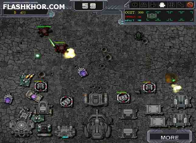 بازی آنلاین hum vs zerg super فلش