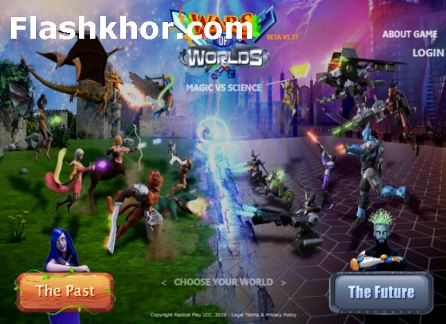 بازی جنگ بین جهان ها استراتژیک جنگی آنلاین