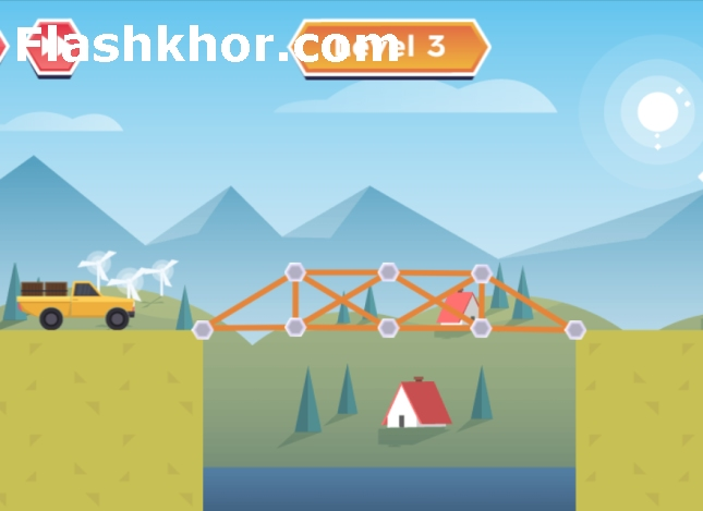 بازی پل سازی قدیمی رایگان آنلاین