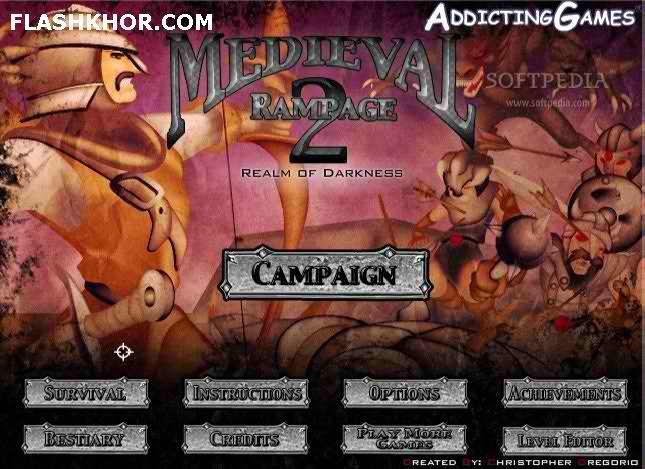 بازی آنلاین خشم قرون وسطی - تیر و کمان اکشن فلش