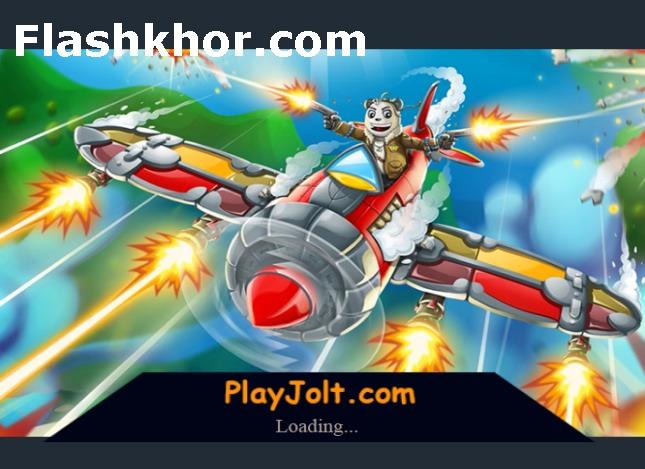 بازی هواپیمای جنگی عقاب آسمان آنلاین
