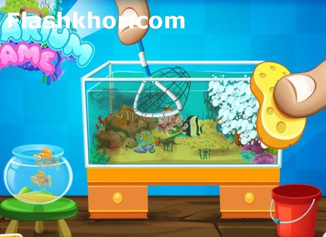 بازی آکواریوم ماهی لوکس برای کامپیوتر آنلاین