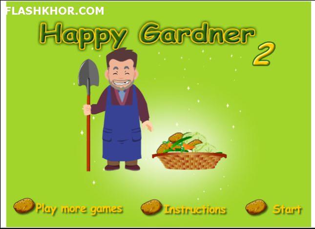 بازی آنلاین باغبان شاد 2 - مزرعه داری فلش