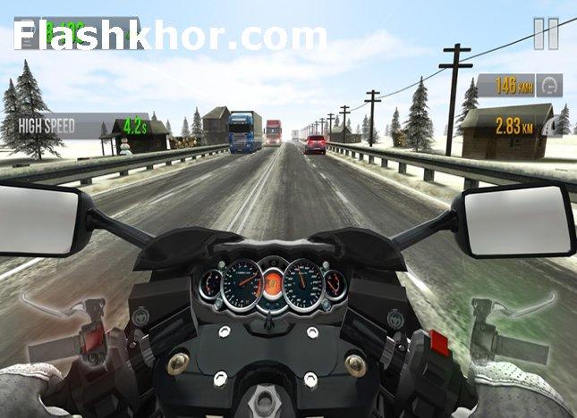 بازی موتور مسابقه ای برای کامپیوتر اندروید آنلاین