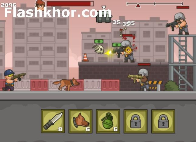 بازی تروریستی جنگی کامپیوتر انلاین ضد تروریست