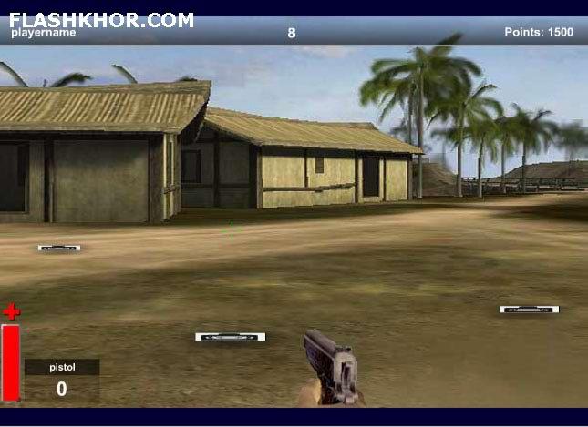 بازی آنلاین hard-mission فلش