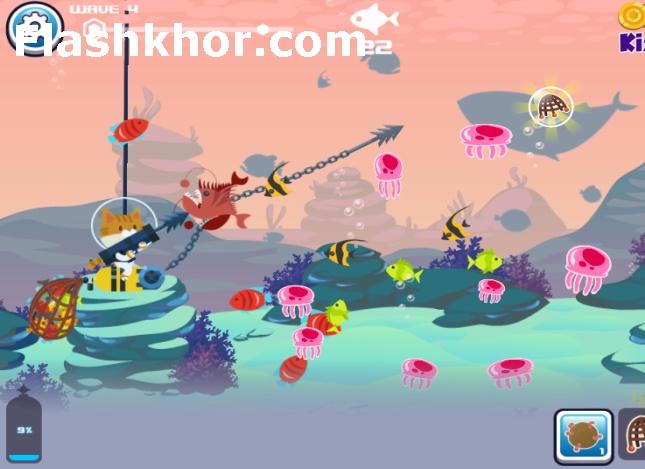 بازی ماهیگیری کودکان برای اندروید کامپیوتر آنلاین