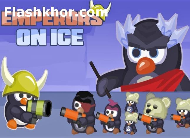 بازی پنگوئن برای کامپیوتر نبرد قطب شمال