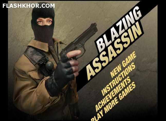بازی آنلاین blazing assassin فلش