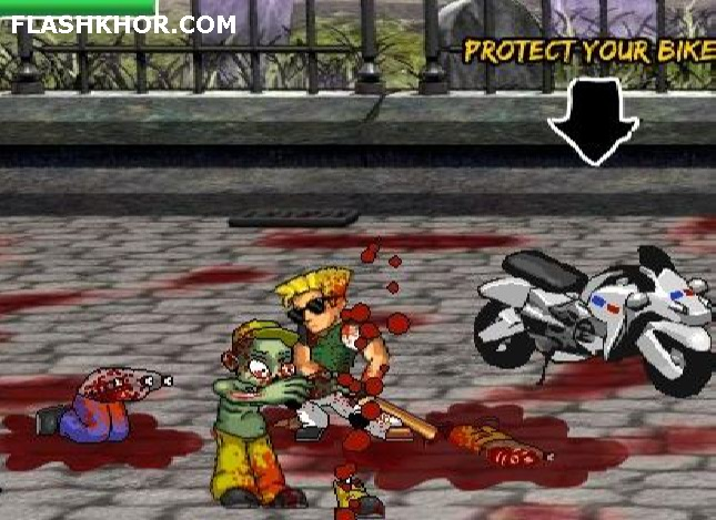 بازی آنلاین streets of death فلش