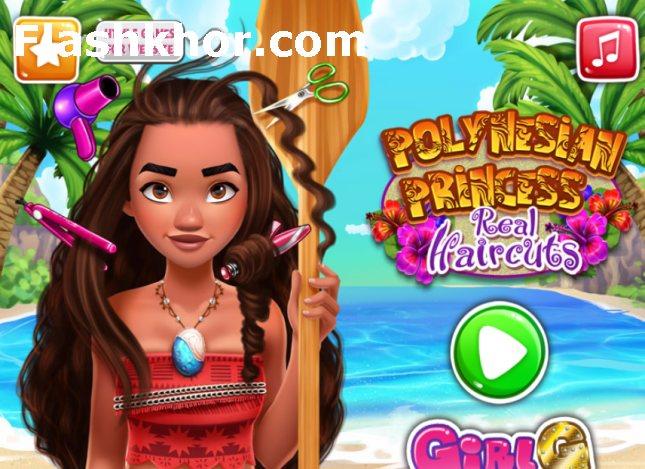 بازی آنلاین موانا برای کامپیوتر اندروید moana آرایش واقعی