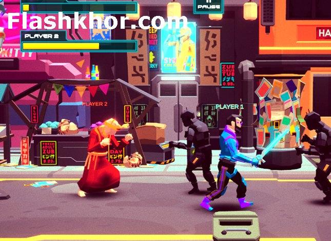 بازی cyberpunk 2077 برای کامپیوتر آنلاین کم حجم