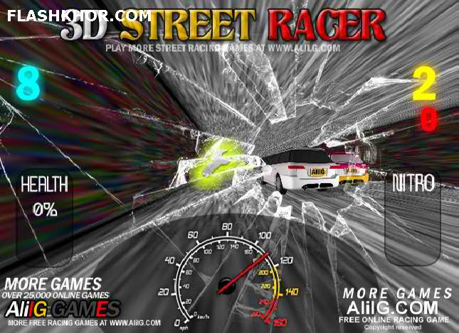 بازی آنلاین 3d-street-racer-3d-extreme-racing ایرانی فلش