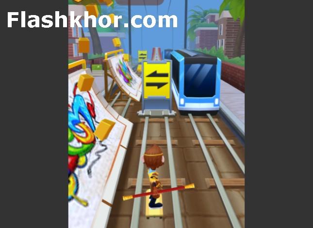 بازی موج سواران مترو 3 کامپیوتر اندروید subway surfers