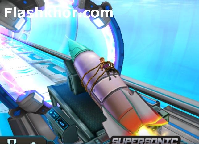 بازی فضانوردی برای کامپیوتر دونده فضایی آنلاین