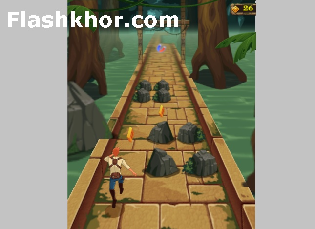 بازی temple run 2 mysterious تمپل ران اسرارآمیز