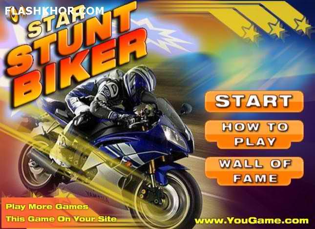 بازی آنلاین stunt bike deluxe 2 فلش