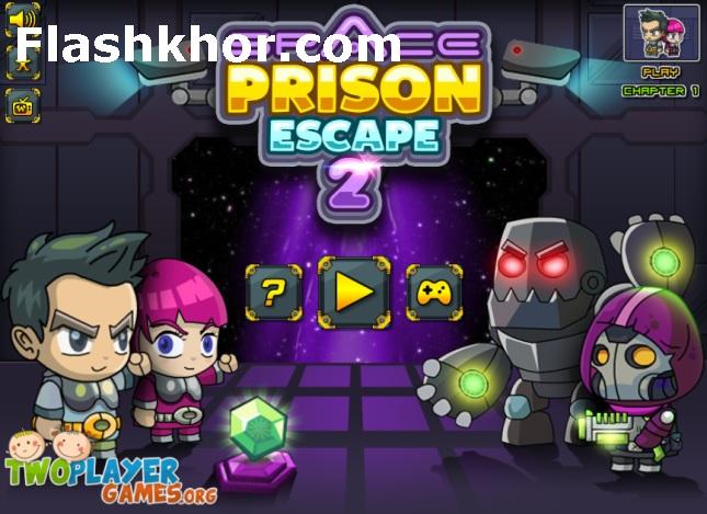بازی فرار از زندان برای کامپیوتر آنلاین فضایی 2