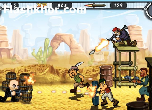 بازی سرباز کوچولو برای اندروید بدون دیتا آنلاین کامپیوتر