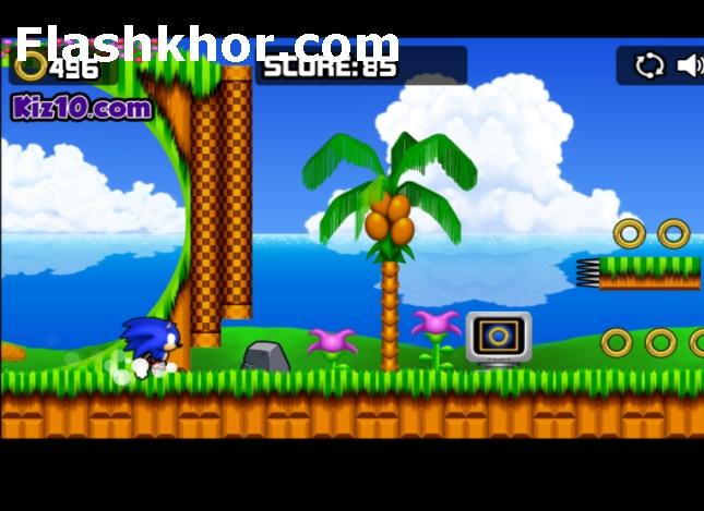 بازی سونیک دش sonic dash برای گوشی کامپیوتر اندروید